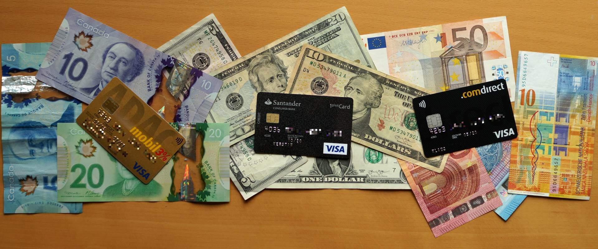 Bargeld oder Kreditkarte? Unsere Tipps zum Bezahlen auf Reisen
