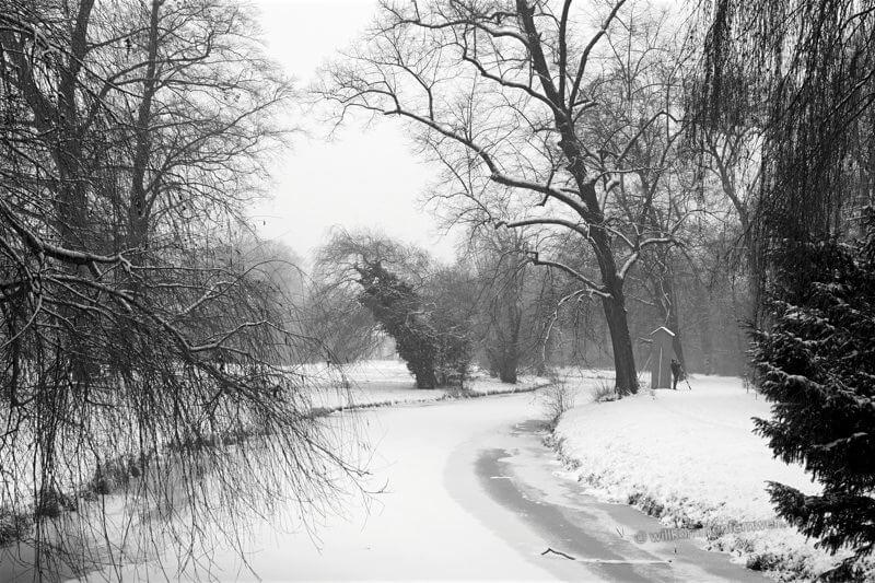 Winter im Park Sanssouci, Potsdam