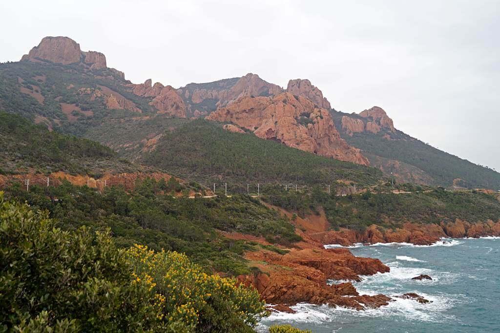 Massif de l'Estérel, Côte d'Azur