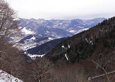 Blick vom Col des Perches