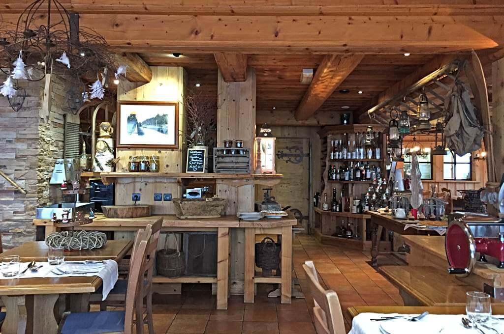 Im Restaurant Le Collet, Col de la Schlucht