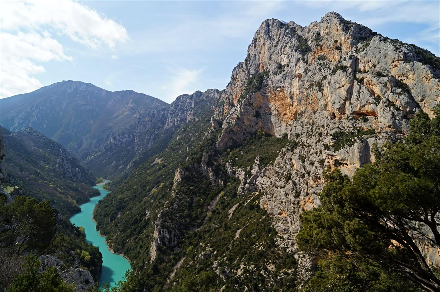 Grand Canyon mit Verdon, Gorges du Verdon