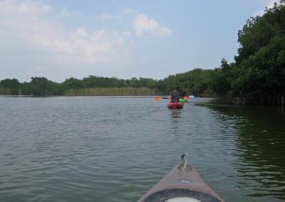 Kayaking mit Garl