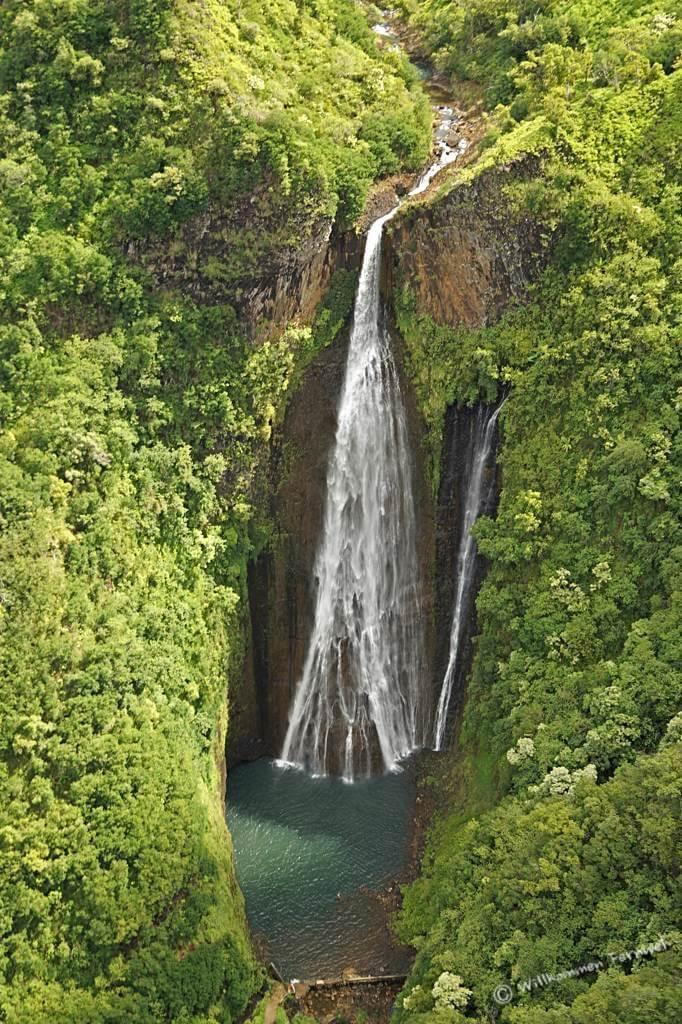 Die Manawaiopuna Falls (Jurassic Park Falls), Kauai
