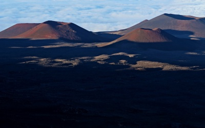 Sonnenuntergang und Stargazing auf dem höchsten Berg der Erde