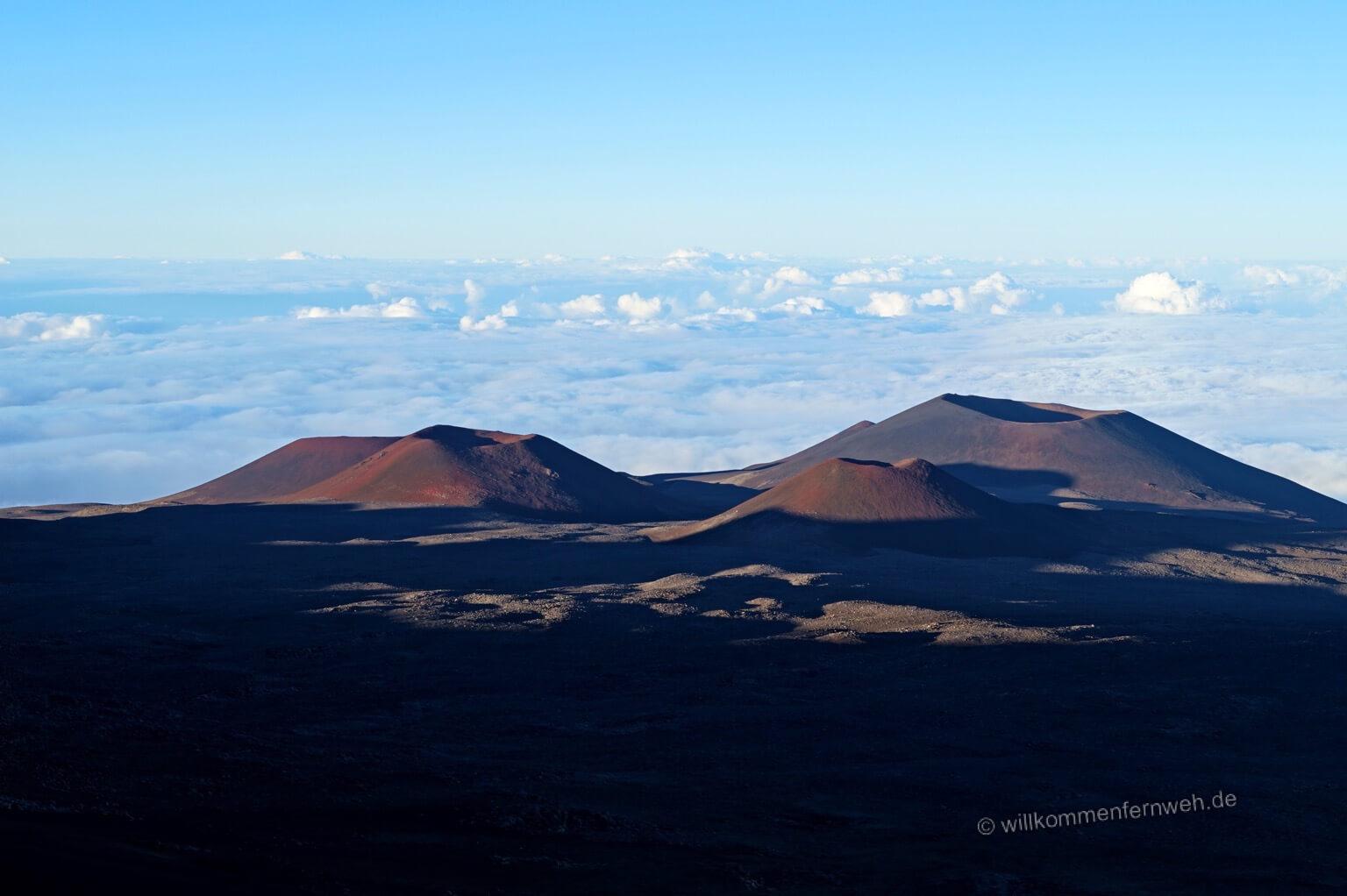 Mondlandschaft am Mauna Kea