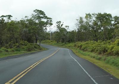 Auf der Saddle Road