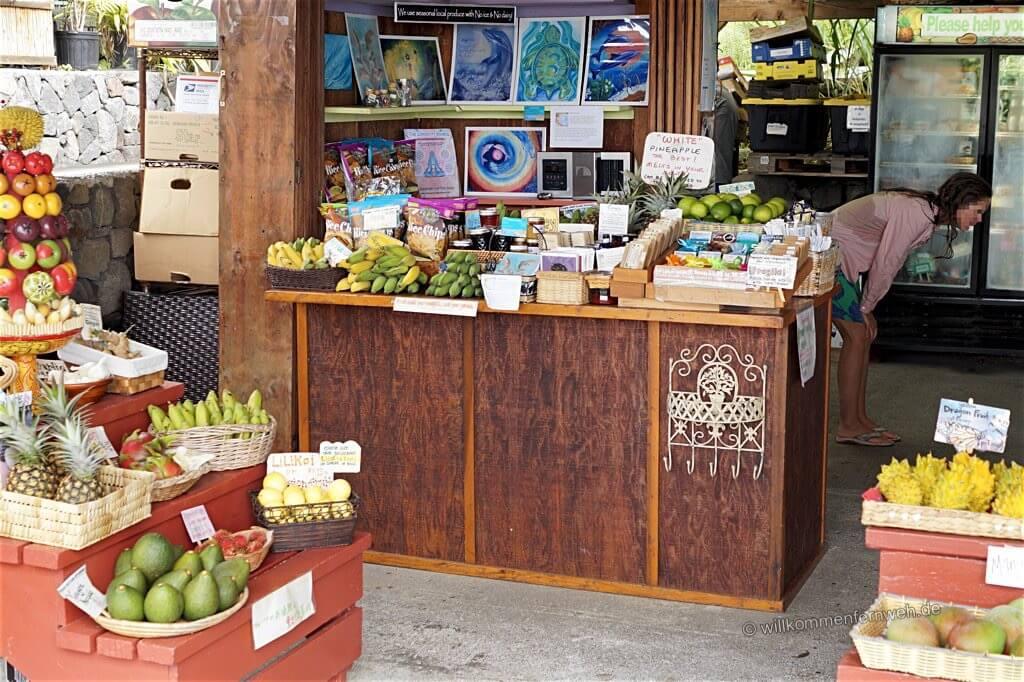 South Kona Fruit Stand, Hawaii Big Island