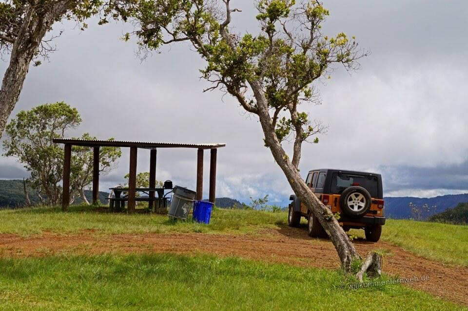 Allradabenteuer, Kauai