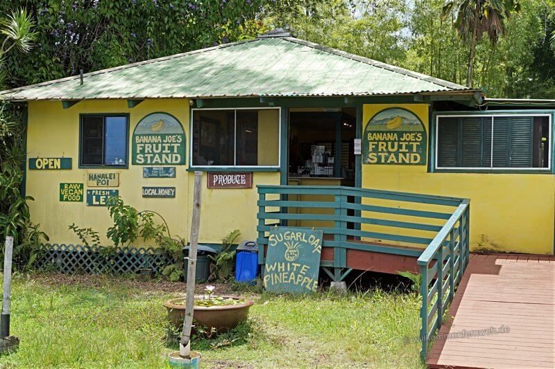 Banana Joe's Fruit Stand, Kauai