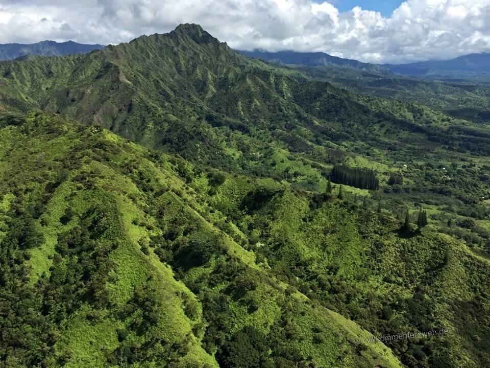 Kauai vom Helikopter, Hawaii