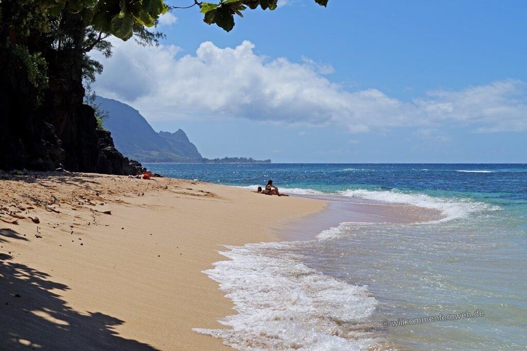 Pali Ke Kua Beach, Kauai