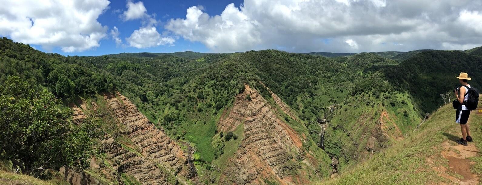 Poomau Canyon Lookout, Kauai