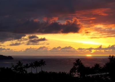 Einer unserer schönsten Sonnenuntergänge