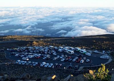 Parkplatz, Haleakala