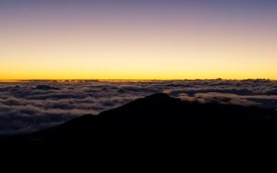 Morning has broken – Sonnenaufgang auf dem Haleakala