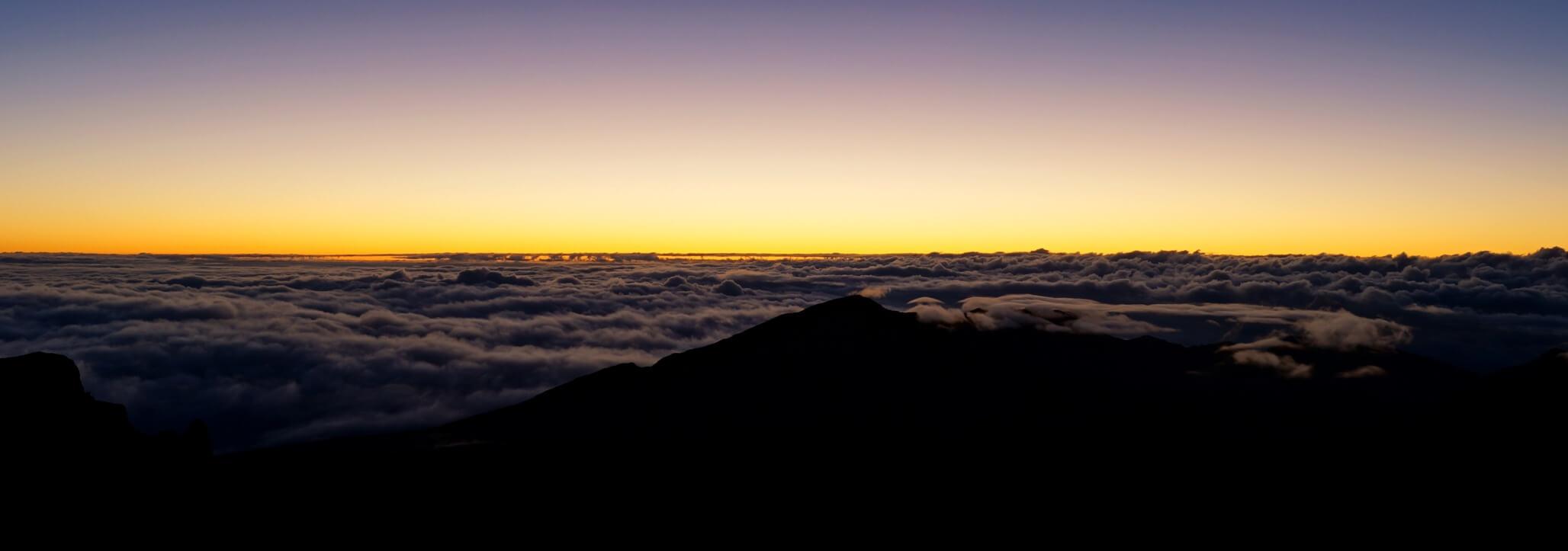 Vor dem Sonnenaufgang am Haleakala, Maui
