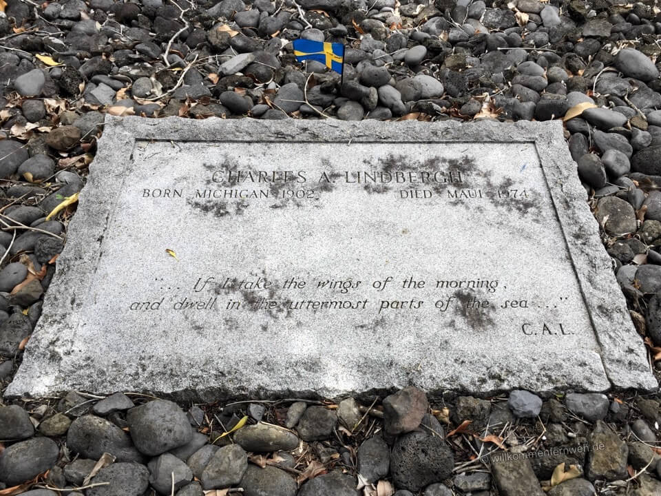 Grab von Charles Lindbergh