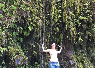 Dusche an der Road to Hana