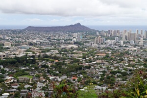 Diamond Head, Honolulu, Oahu, Hawaii