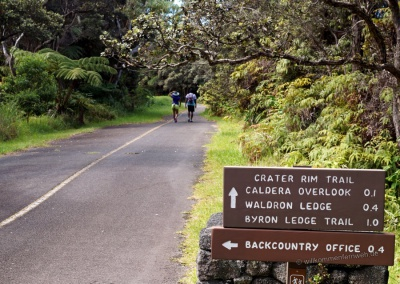 Crater Rim Trail, Hawaii Volcanoes National Park