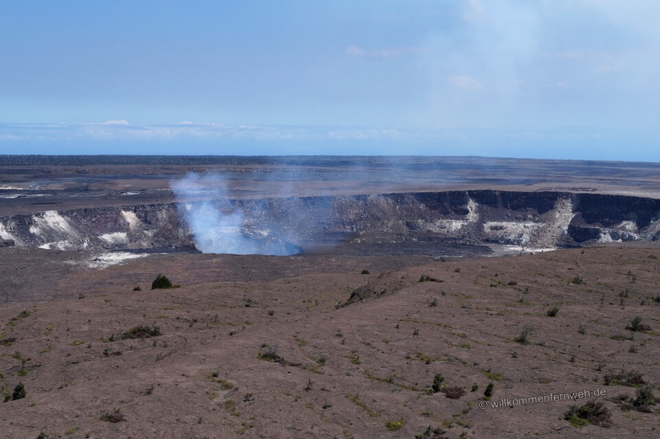 Halemaumau Krater, Hawaii Volcanoes National Park
