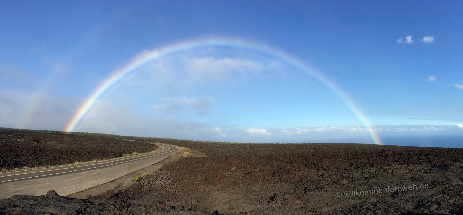 Regenbogen, Hawaii Volcanoes National Park