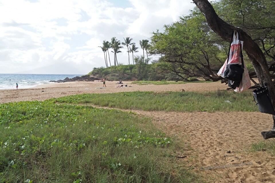 Wohin mit den Wertsachen am Strand?