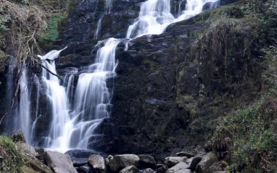 Wie fotografiere ich einen Wasserfall?