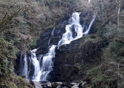 Torc Falls, Killarney Nationalpark, Irland