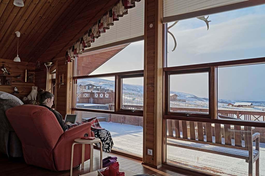 Entspannt, gemütlich und großartige Aussicht – Ferienhaus am Golden Circle, Island