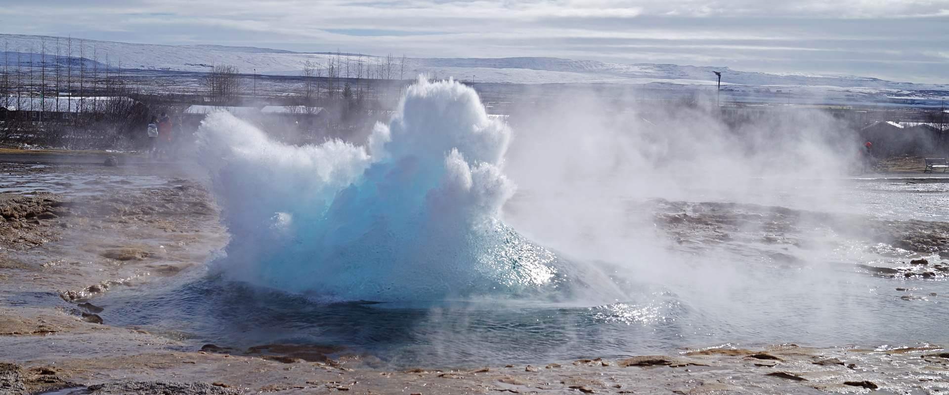 Gullfoss, Þingvellir und Geysir – der Golden Circle im Schnee