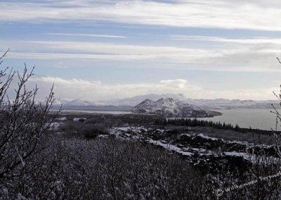 Blick zum Þingvallavatn See