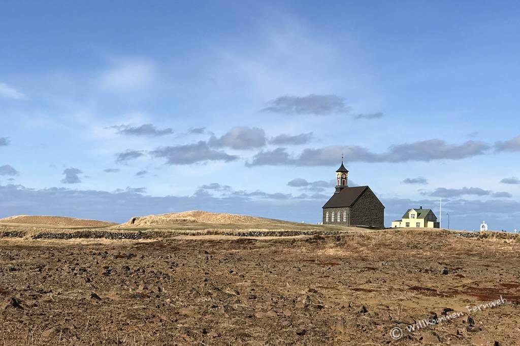 Hvalsneskirkja, Reykjanes-Halbinsel