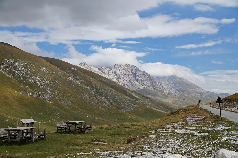 Schönes Foto mit besonderer Hintergrundgeschichte: Campo Imperatore (Gran Sasso Nationalpark)
