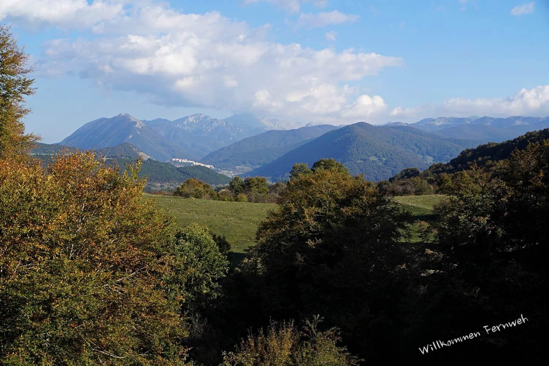 Schöne Landschaft im Abruzzen-Nationalpark