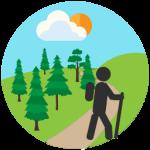 Icon Hiking