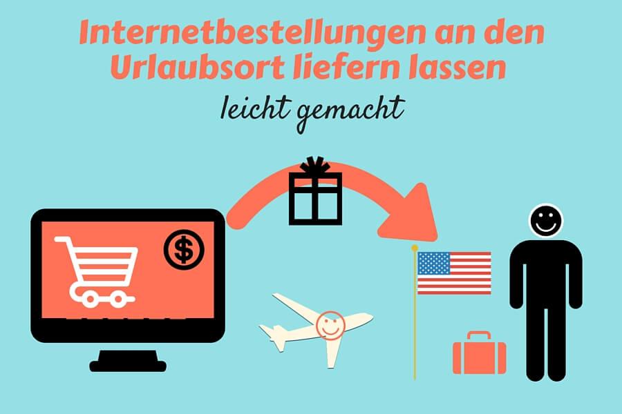 Internetbestellung nach USA
