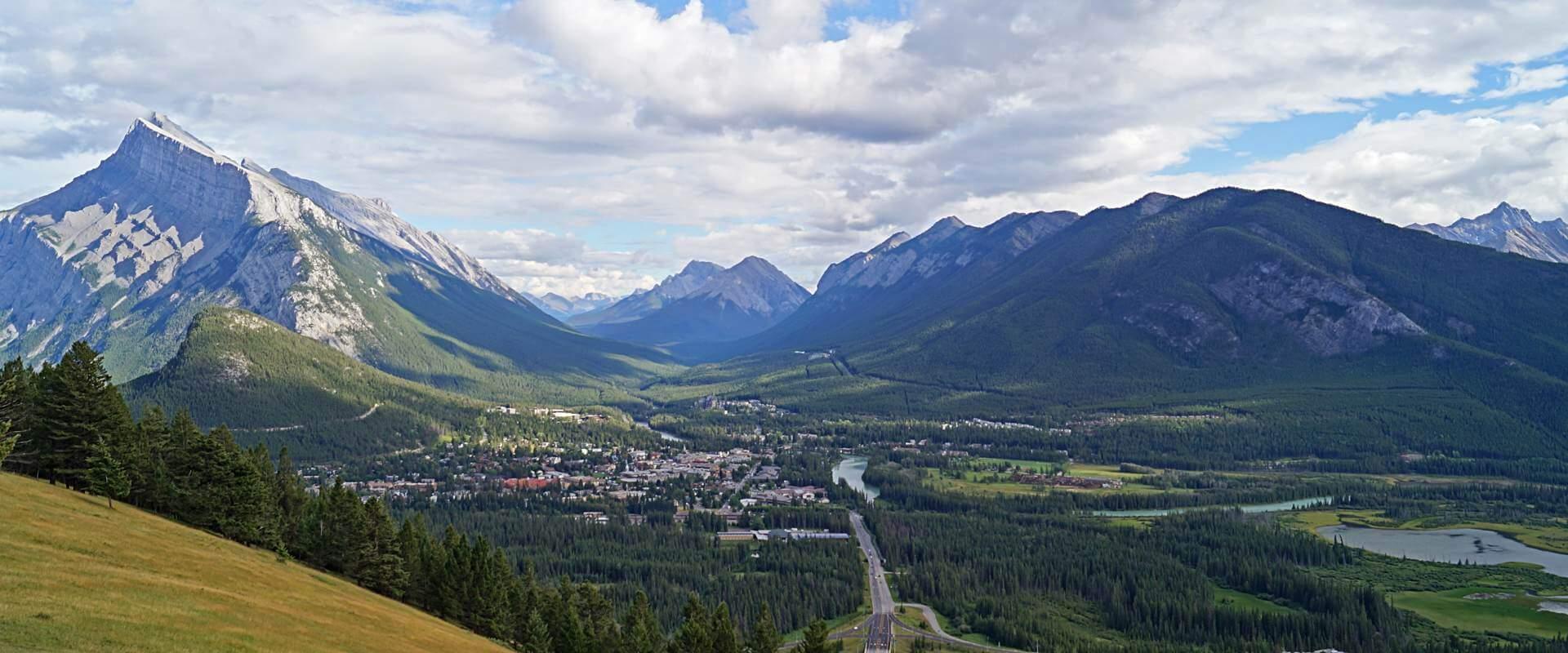 Wildnis und Gewusel im Banff National Park