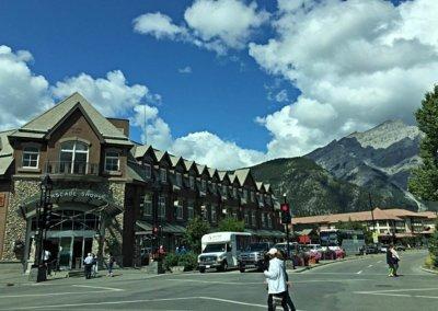 Im Ortszentrum von Banff