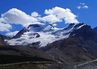 Berg- und Gletscherpanorama