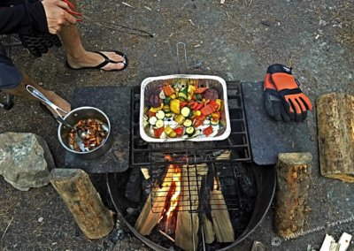 Grillabend am Campingplatz