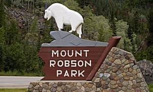 Einfahrt in den Mount Robson Provincial Park