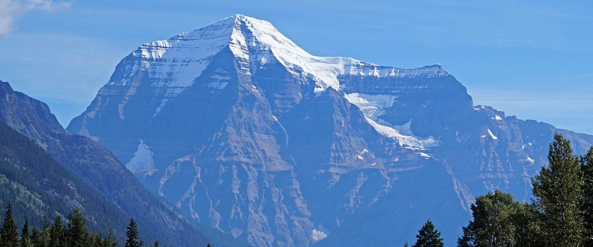 Unterwegs im Mount Robson Park – höchster Berg der kanadischen Rockies