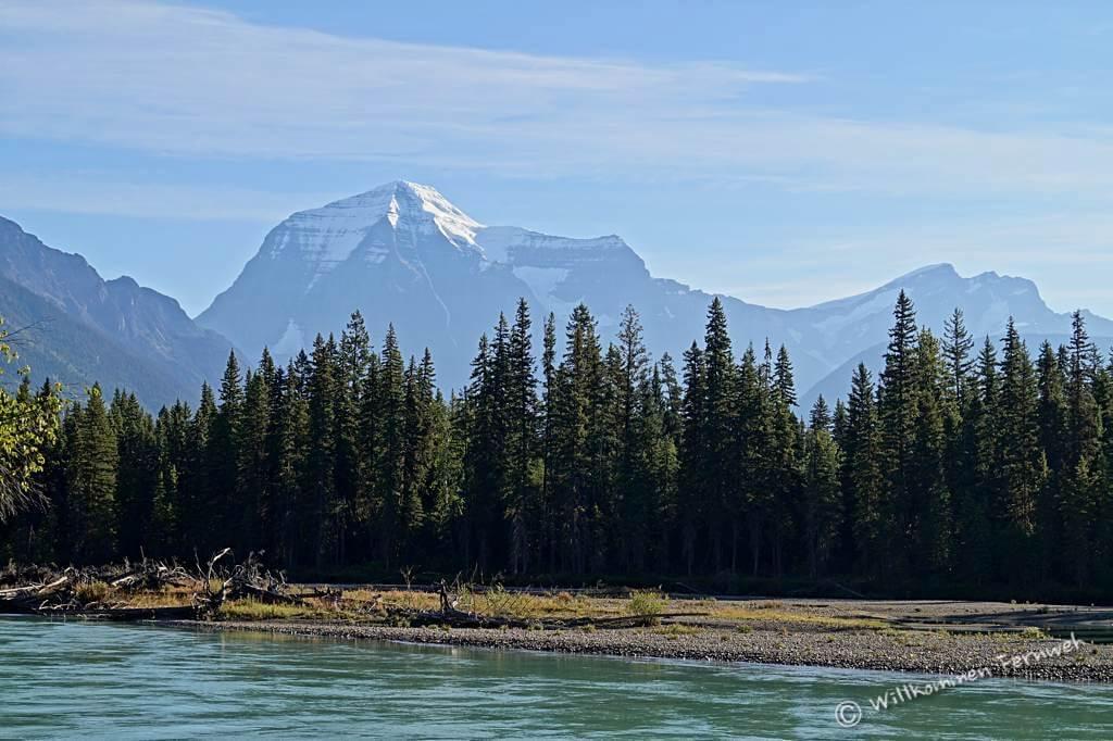 En neuer Tag und der Berg zeigt sich unverschleiert!