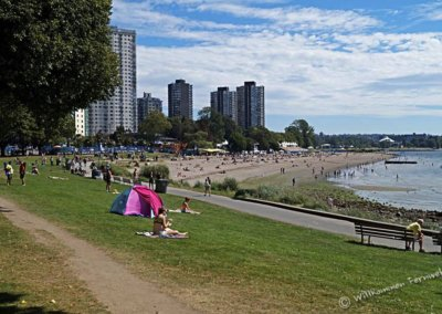 Der English Bay Beach