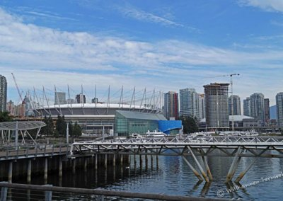 Stadion am False Creek Meeresarm