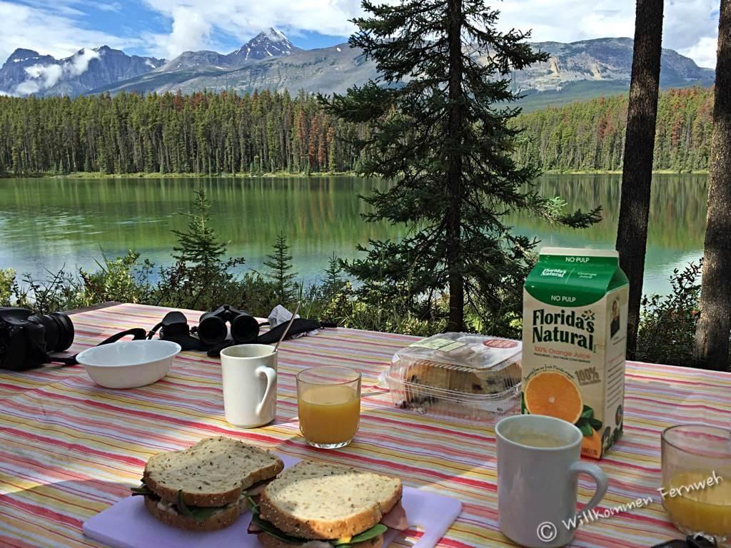 Frühstück in Kanada, Leach Lake
