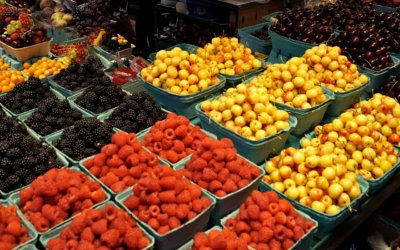 Der Granville Island Public Market – eines unserer Vancouver-Highlights
