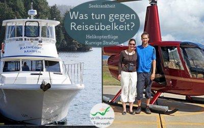 Was tun gegen Reiseübelkeit und Seekrankheit?